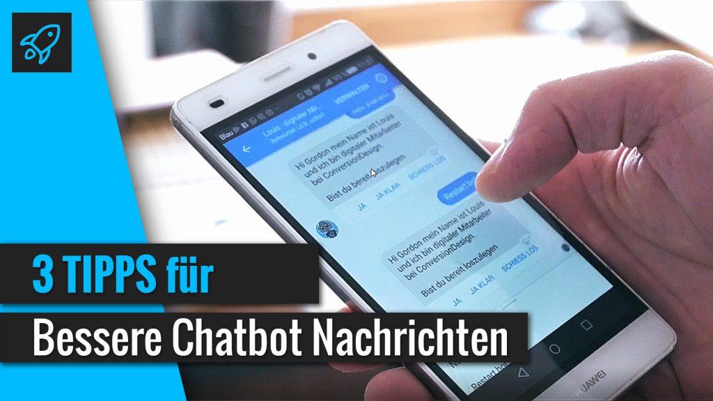 Chatbot Nachrichten